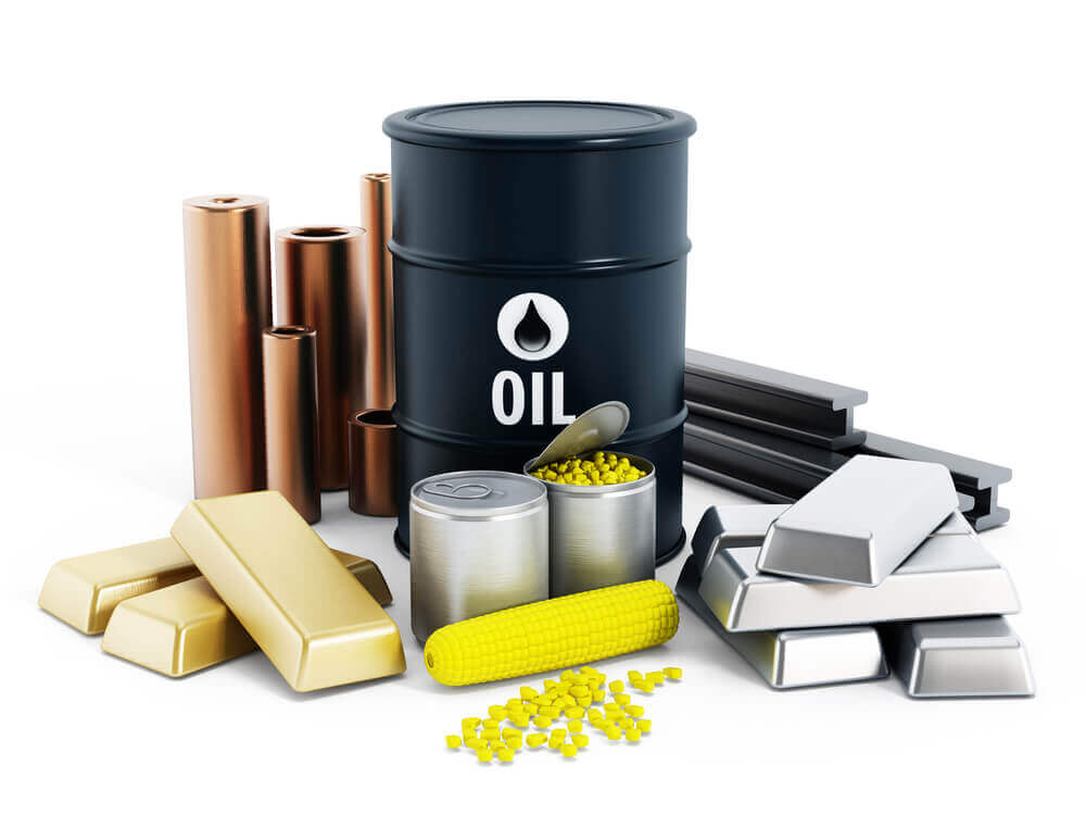 oil gold and other commodities