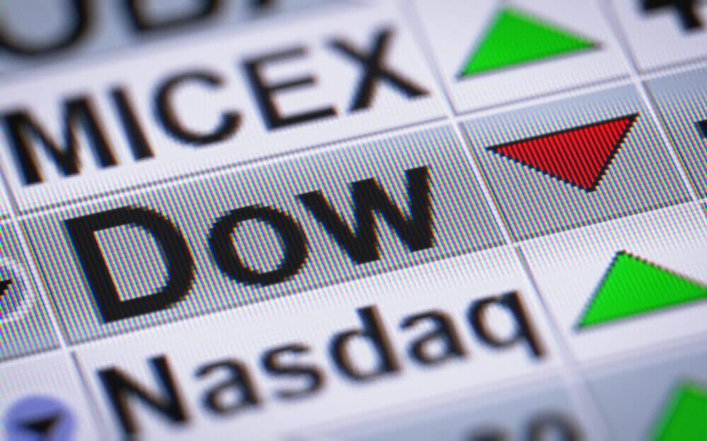 BUY STOCKS - Dow Jones Makes 100-point Decline as Banks Drop