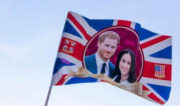 Royal wedding, warm weather boost British economy