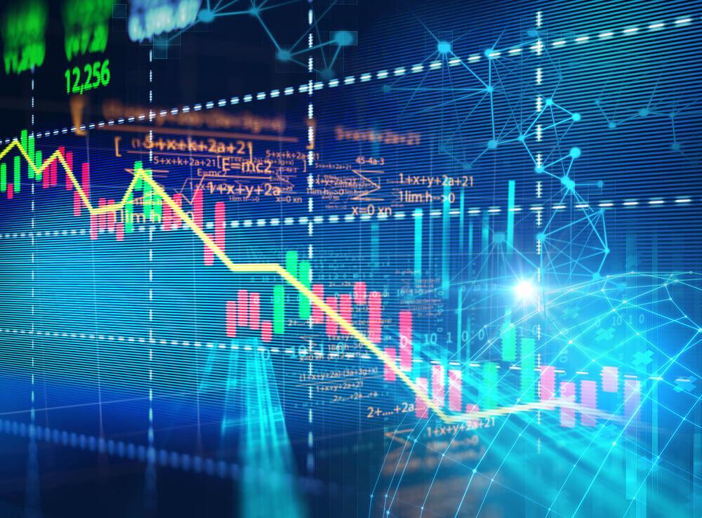Stock market photo, seoul