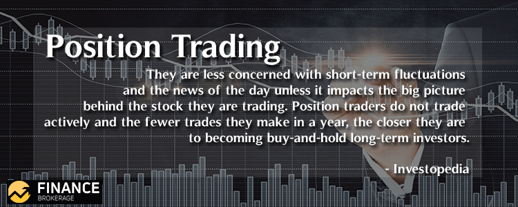 Position Trading - Finance Brokerage