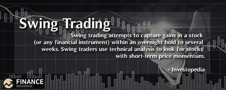 Swing Trading - Finance Brokerage