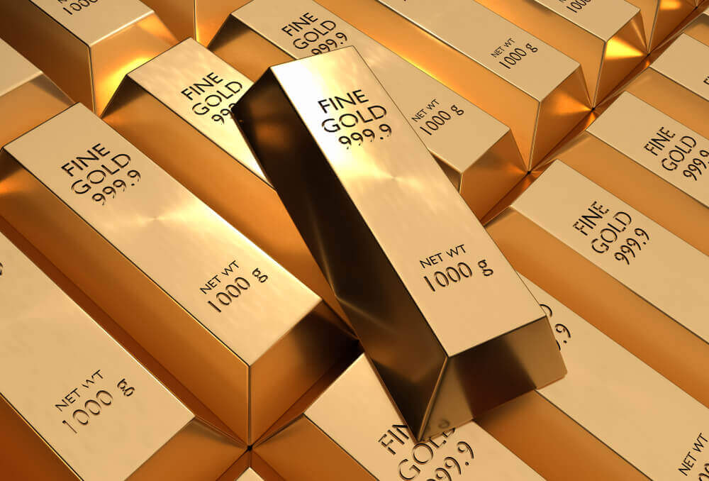 FinanceBrokerage - Future Gold Prices Make Slight Rise on Trade Worries