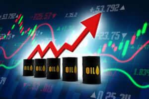 FinanceBrokerage - Oil Commodity Oil prices increase on sudden US Crude Stockpiles surge