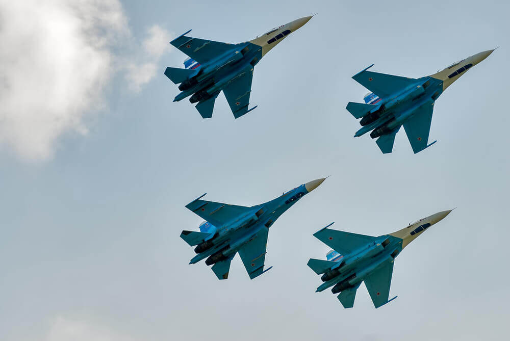 FinanceBrokerage - Trade War US Sanctions China for Purchases on Russian Jets
