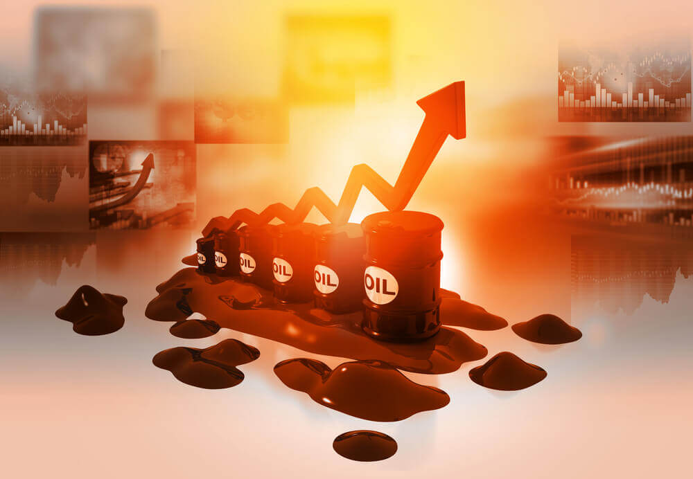 FinanceBrokerage - Crude Oil Futures: Oil prices on Wednesday have jumped on the reported drop of US crude inventories.