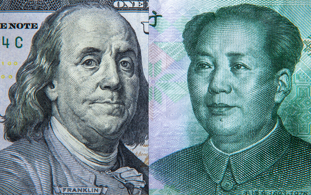 FinanceBrokerage – Fx Live: The Chinese yuan inched up against major peers on reports that the US and China resumed talks.