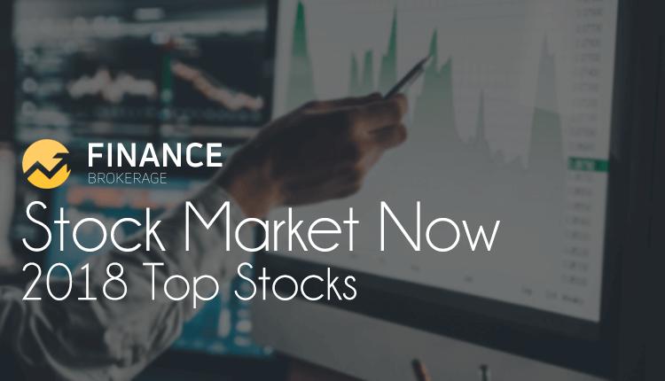 Stock Market Now - 2018 Top Stocks - Finance Brokerage