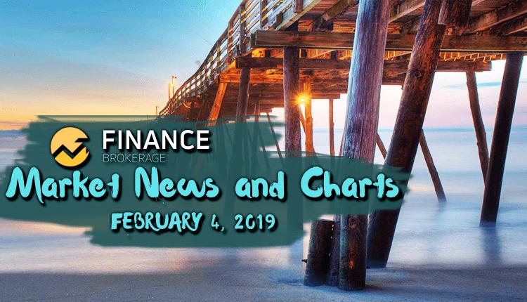 Finance Brokerage Market News and Charts - February 4, 2019