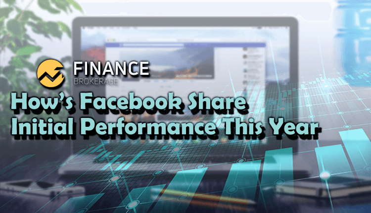 Share Market - How's Facebook Share initial performance this year - Finance Brokerage