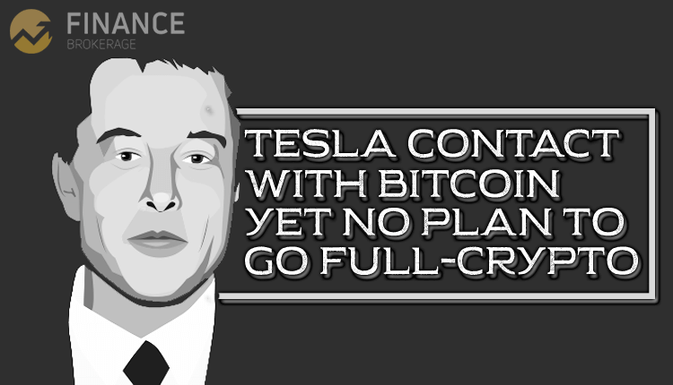 Tesla Contact With Bitcoin, yet no plan to go full-crypto - Finance Brokerage