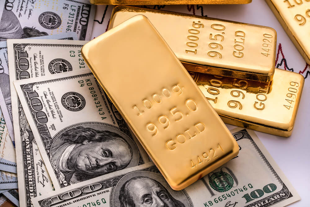 Today Gold Price A Week Lows Drive Investors to Riskier Assets - Finance Brokerage