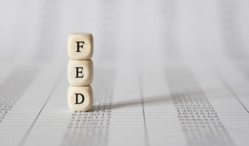 Finance Brokerage-Federal Budget: FED written on blocks stacked on top of each other