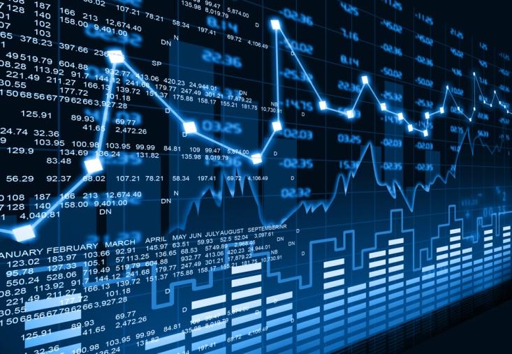 global stocks, Finance Brokerage-Share Market: a visual representation of stock price movements.