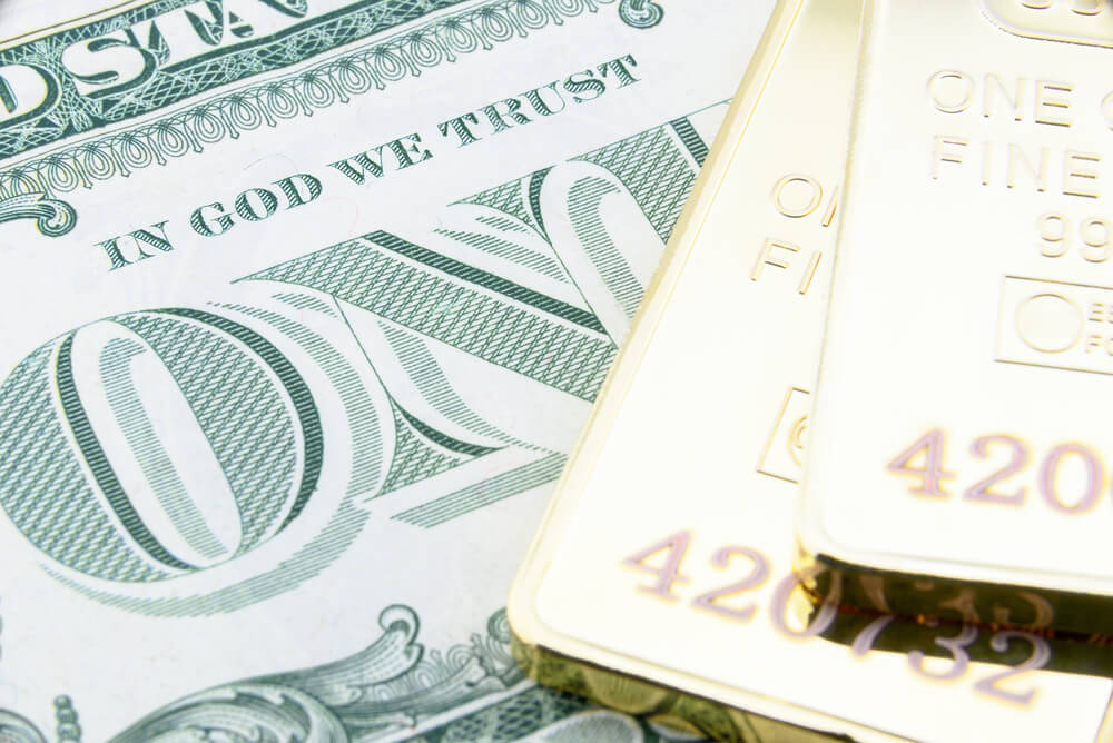 Spot Price Gold - Increase on softer dollar upon global difficulties - Finance Brokerage