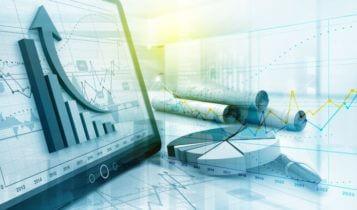 Finance Brokerage-Asian Market: charts, graphs, figures