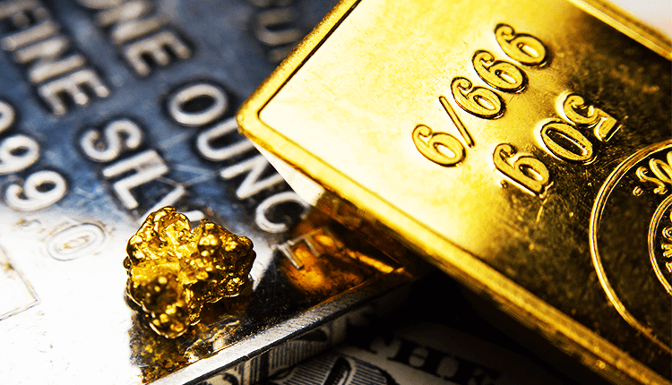 Gold and Silver Prices Ricocheted on Higher Crude Rates - Finance Brokerage