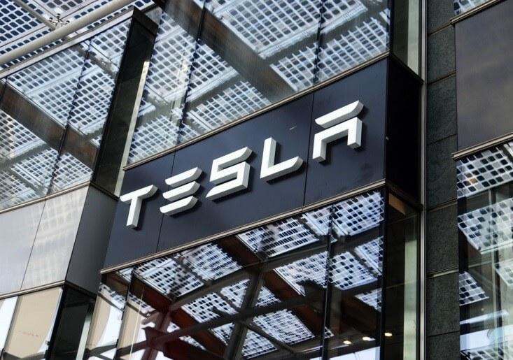 Tesla Motors_Tesla name on a building-FinanceBrokerage