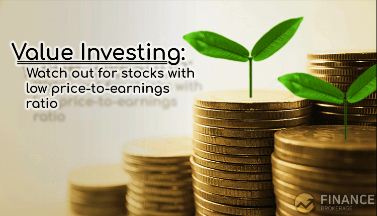 Value Investing - Watch out for stocks with low price-to-earnings ratio - Finance Brokerage