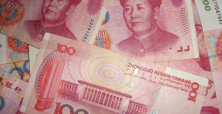 Chinese currency in hundred notes- Finance Brokerage