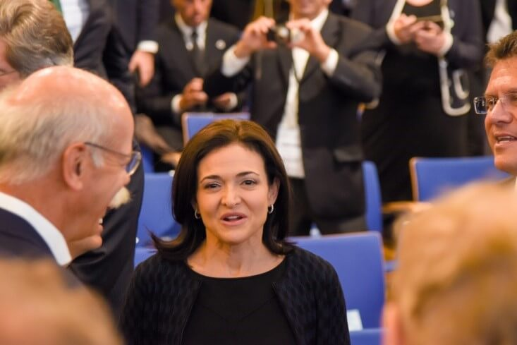 Data Privacy-Sheryl Sandberg with executives and lawmakers-Finance Brokerage