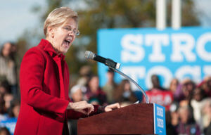 Economic Update — Elizabeth Warren making a speech