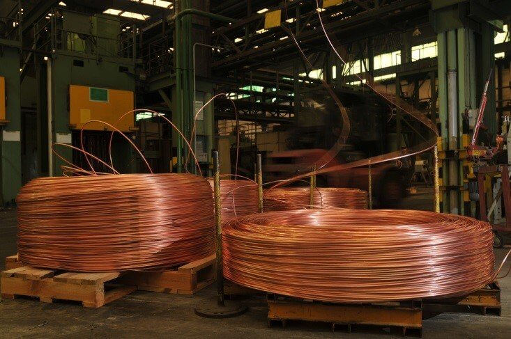 industrial metal – copper cable factory – Finance Brokerage