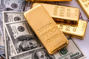 Gold prices and trade war