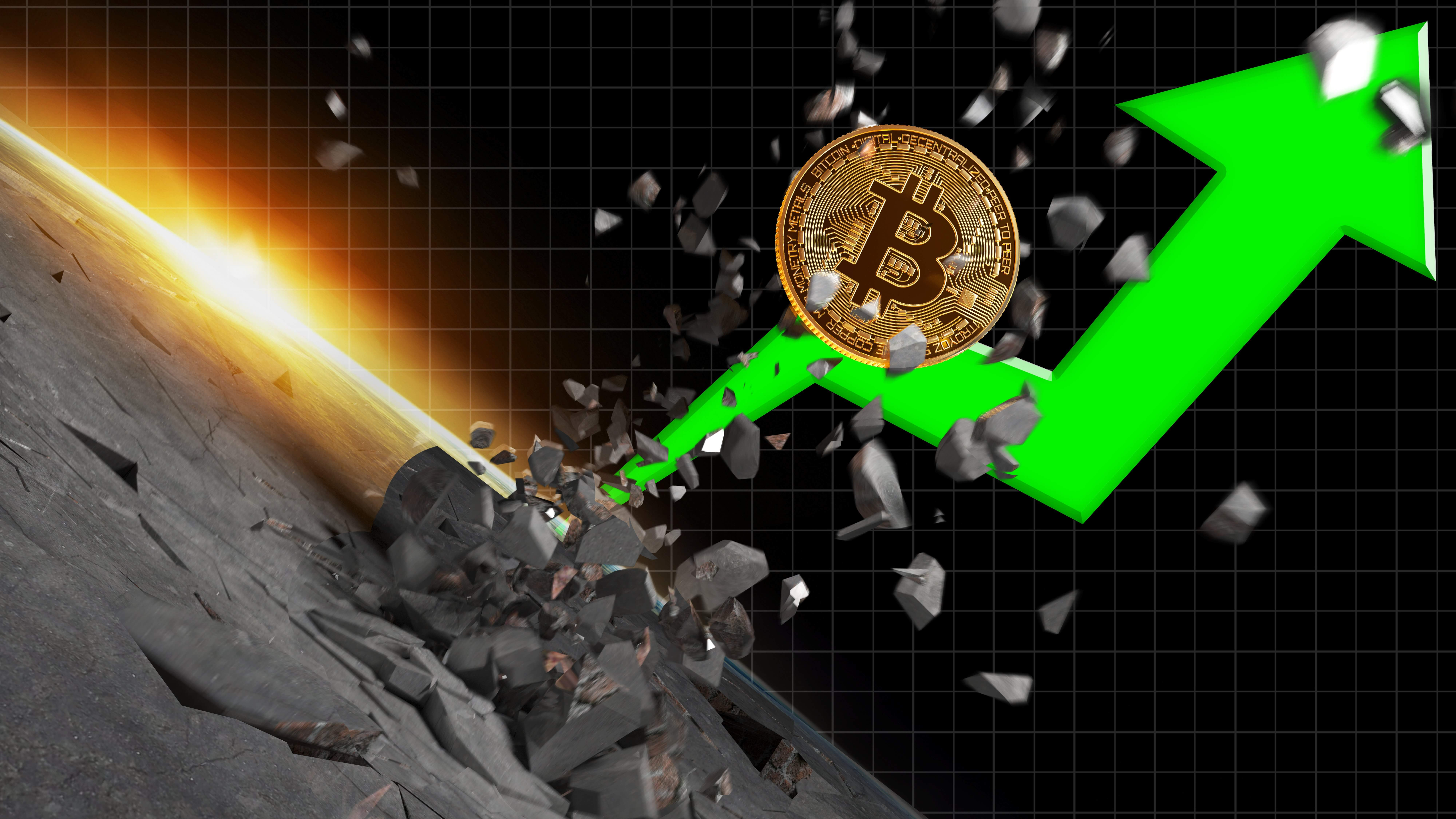 bitcoin price at the highest in 15 months