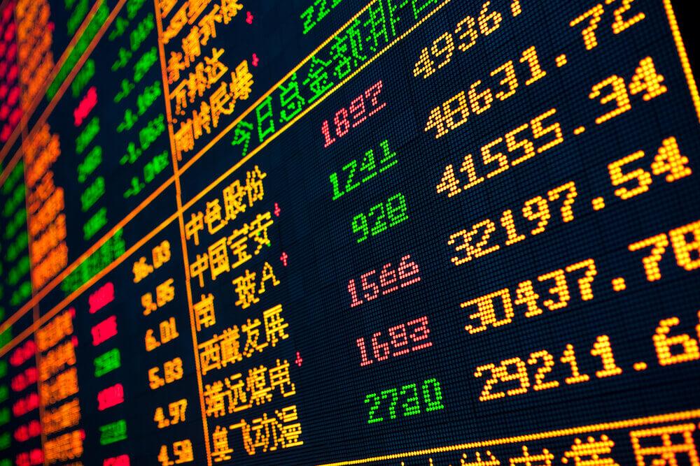 Display of chinese stocks