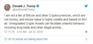 Bitcoin dropped 10%