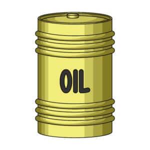 WTI crude oil price on Wednesday