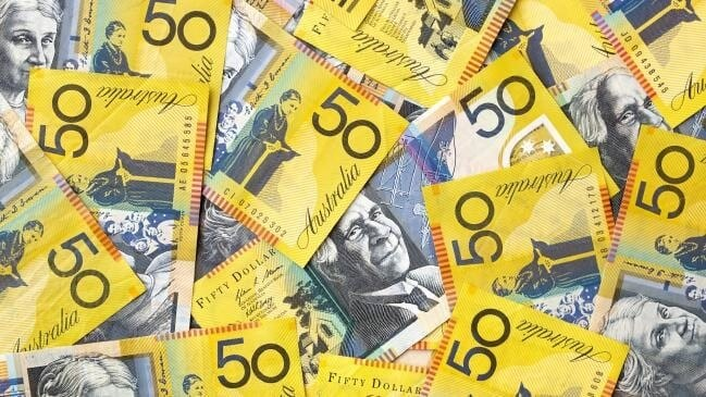 Australian currency in 50-dollar notes- Finance Brokerage