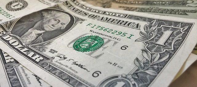 Image text: U.S. Dollar note- Finance Brokerage
