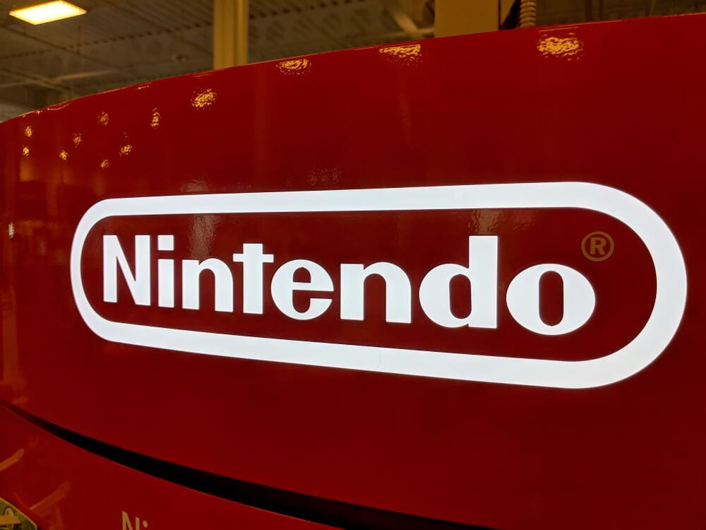 Finance Brokerage – Nintendo: Nintendo red and white logo.