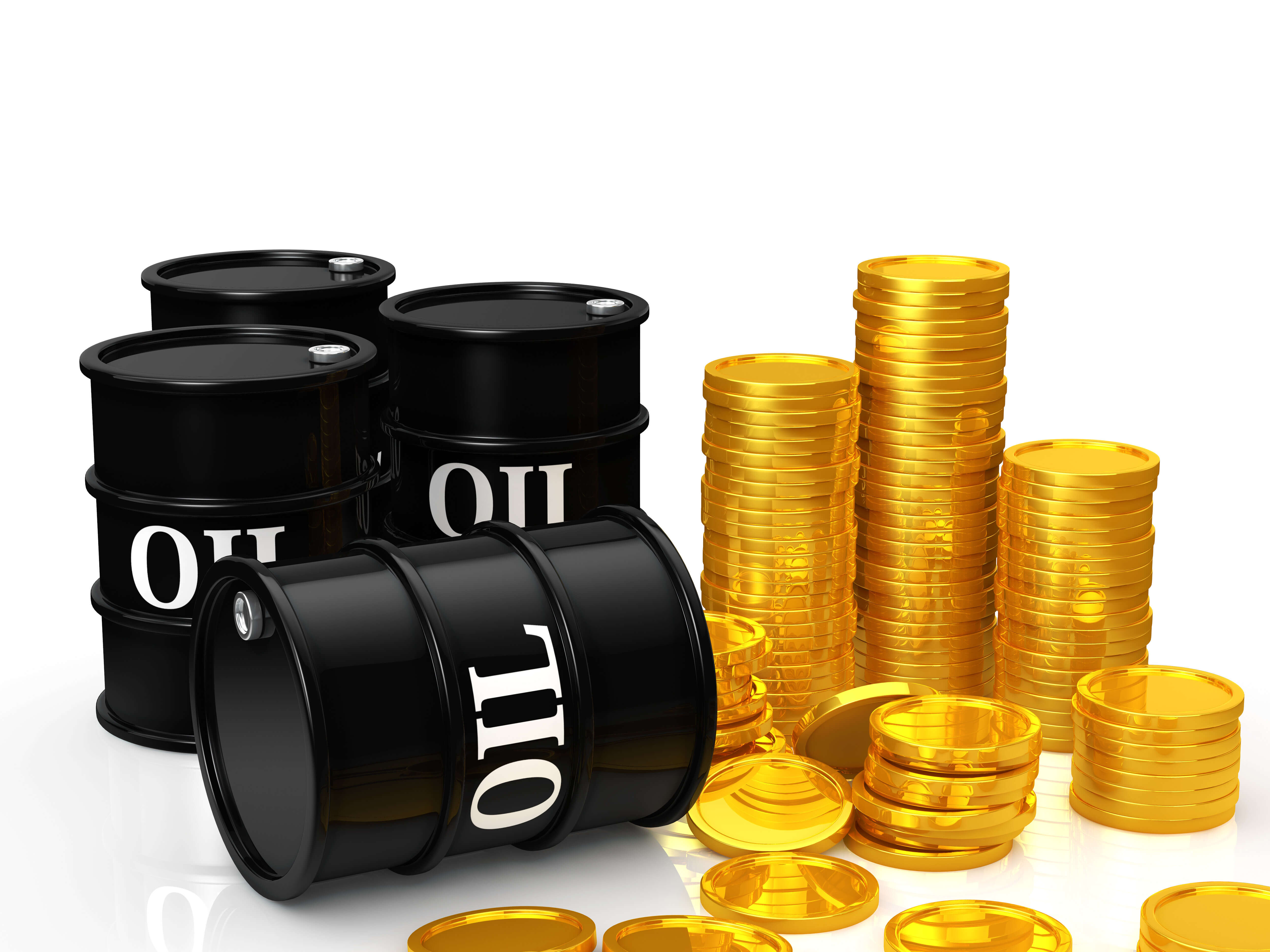 Oil and gold prices on Friday