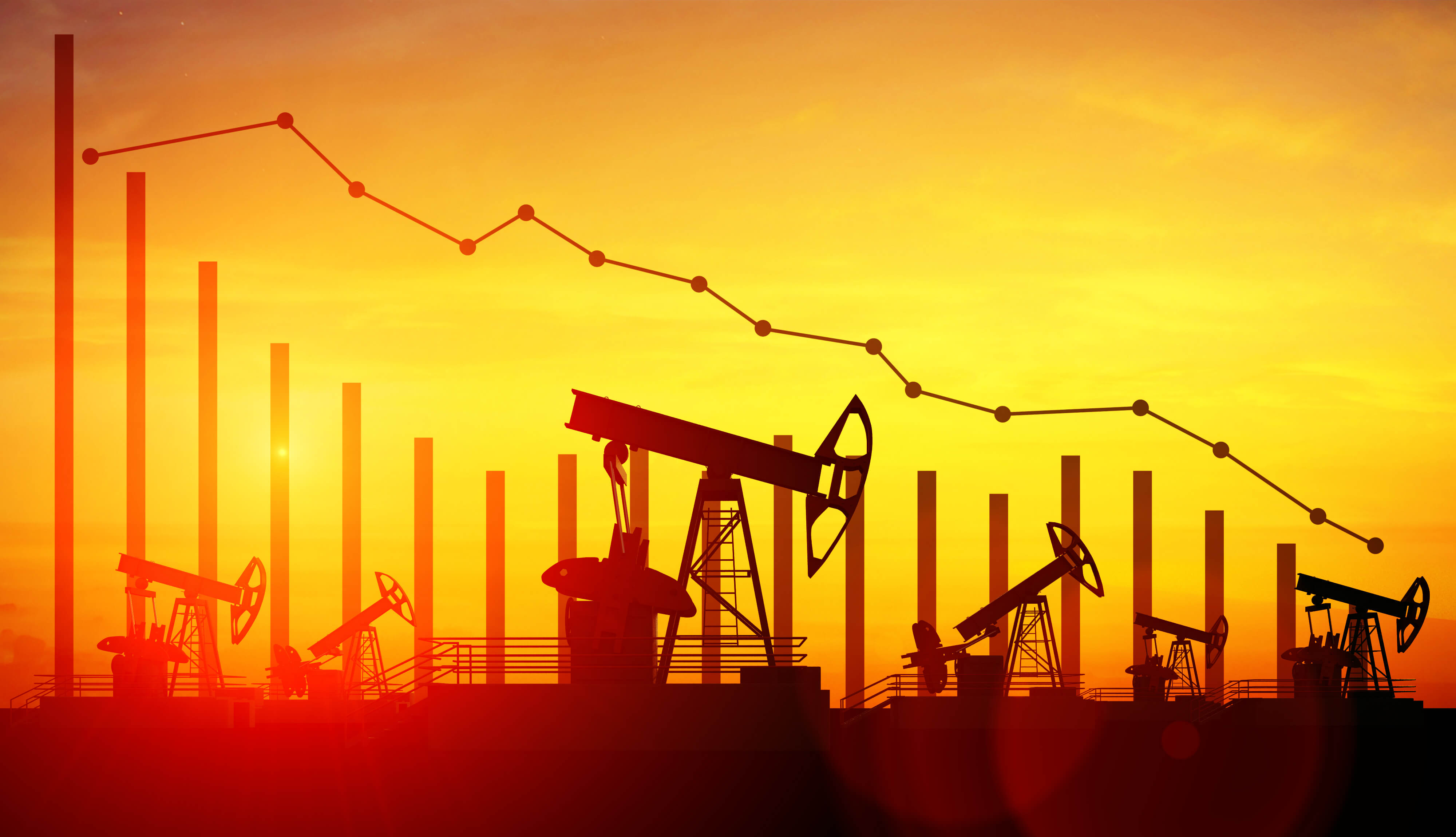 WTI crude oil price declined after posting a modest increase on Wednesday.