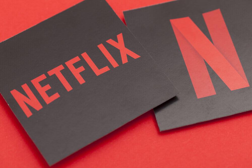 Finance Brokerage – FANG: Netflix logo on a red background.