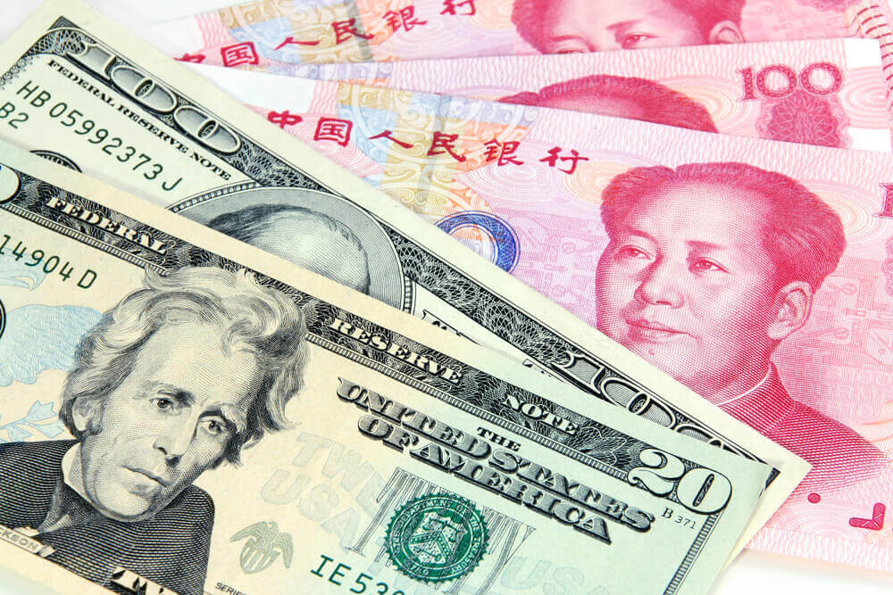 U.S. dollar and Chinese Yuan