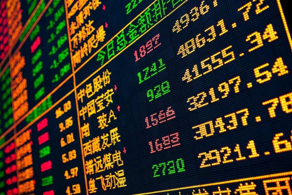 Finance Brokerage – STAR Market: Display of Stock market quotes.