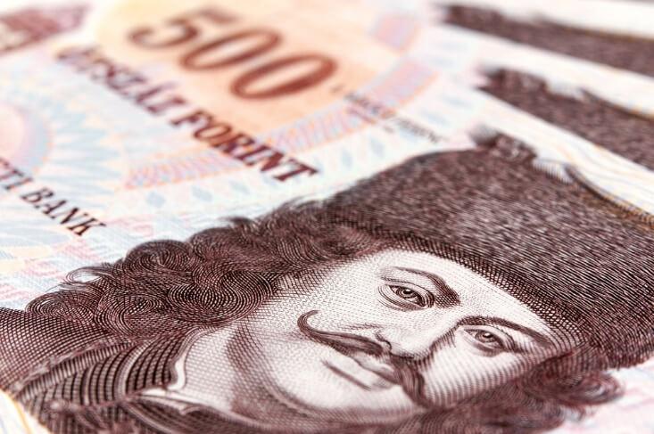 Finance Brokerage – fx news: closeup shot of Hungarian forint