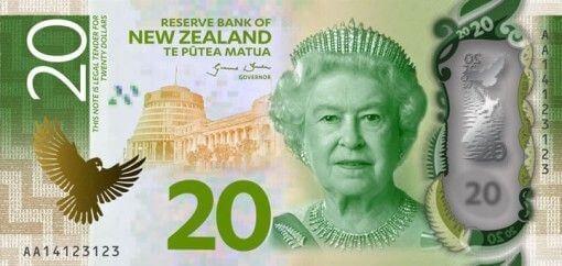 New Zealand 20 Dollar Note