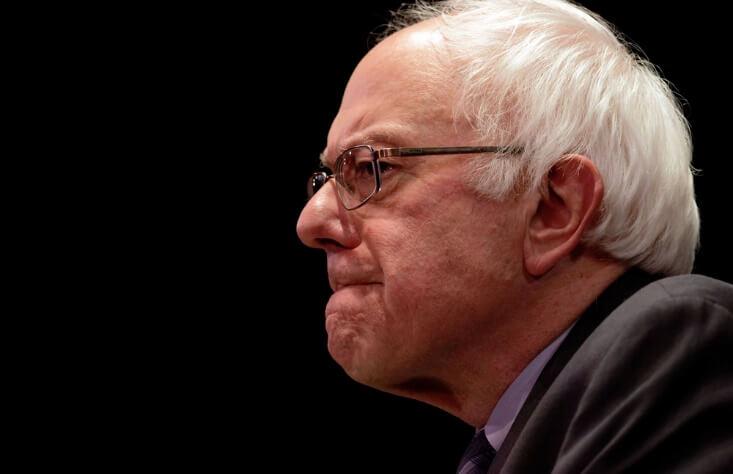 Election day - side shot of Sanders' face – Finance Brokerage
