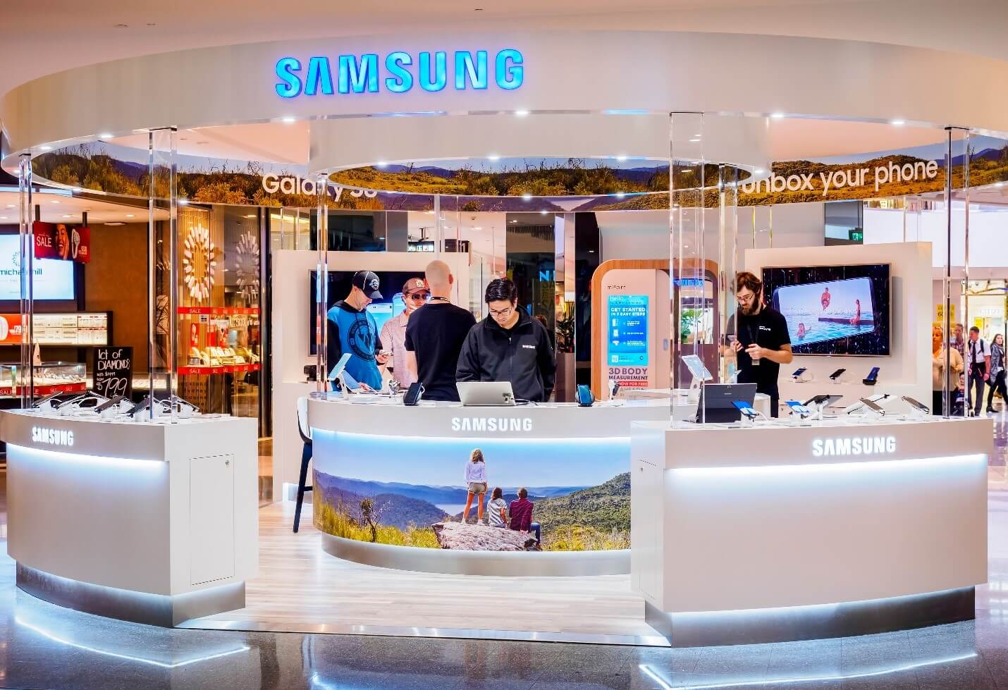 Samsung stall