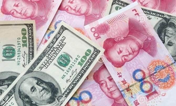 USA and China Banknotes