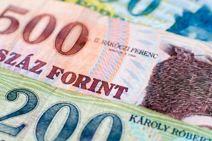 Finance Brokerage – fx news: closeup shot of the Hungarian forint