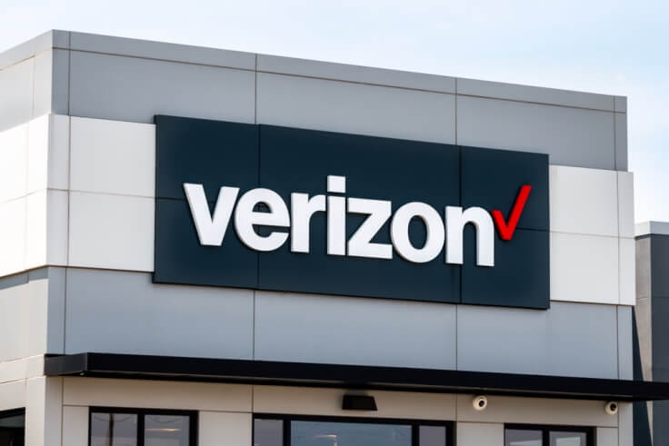 Finance Brokerage – Verizon office as seen from the outside