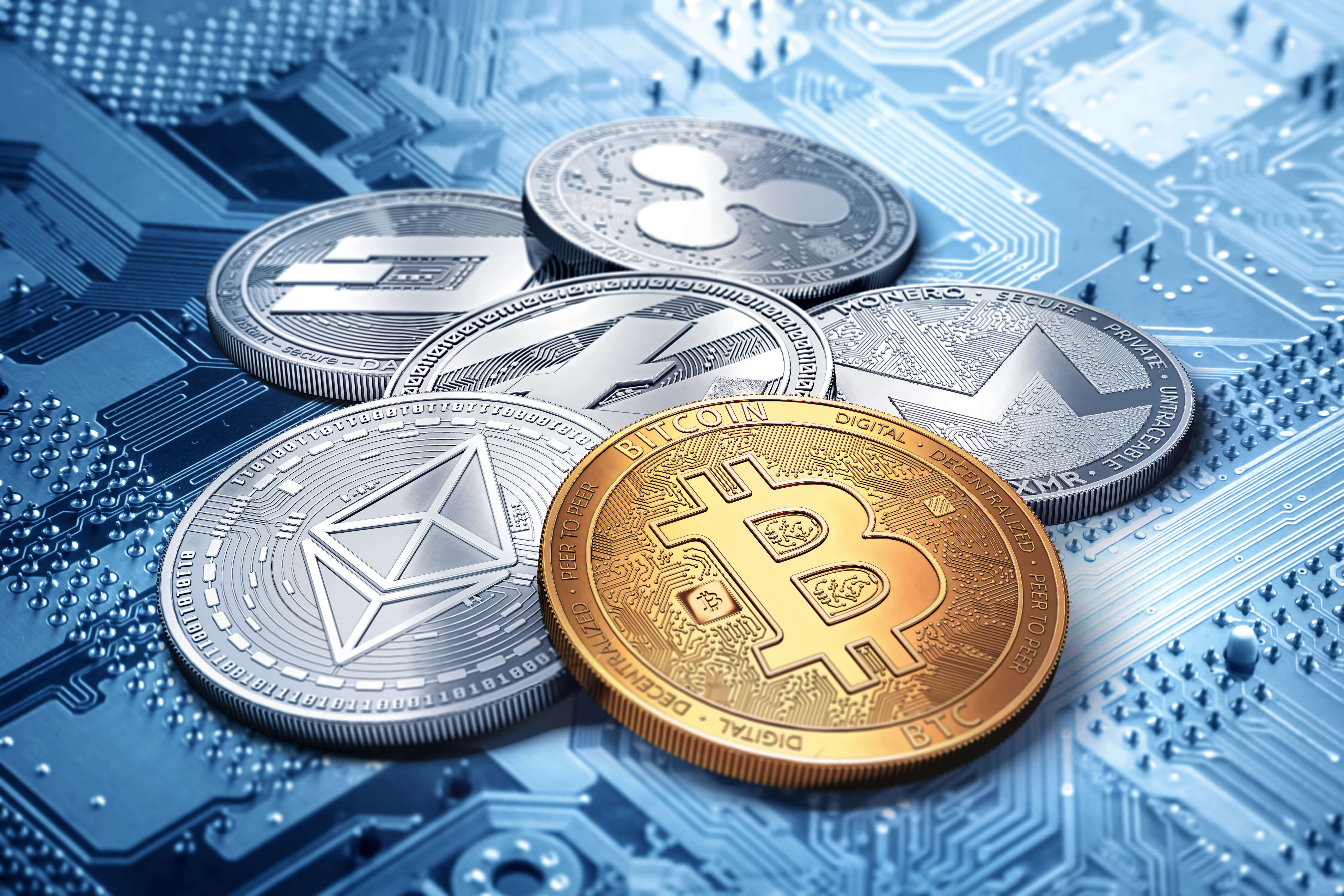 Digital currency market on August 16