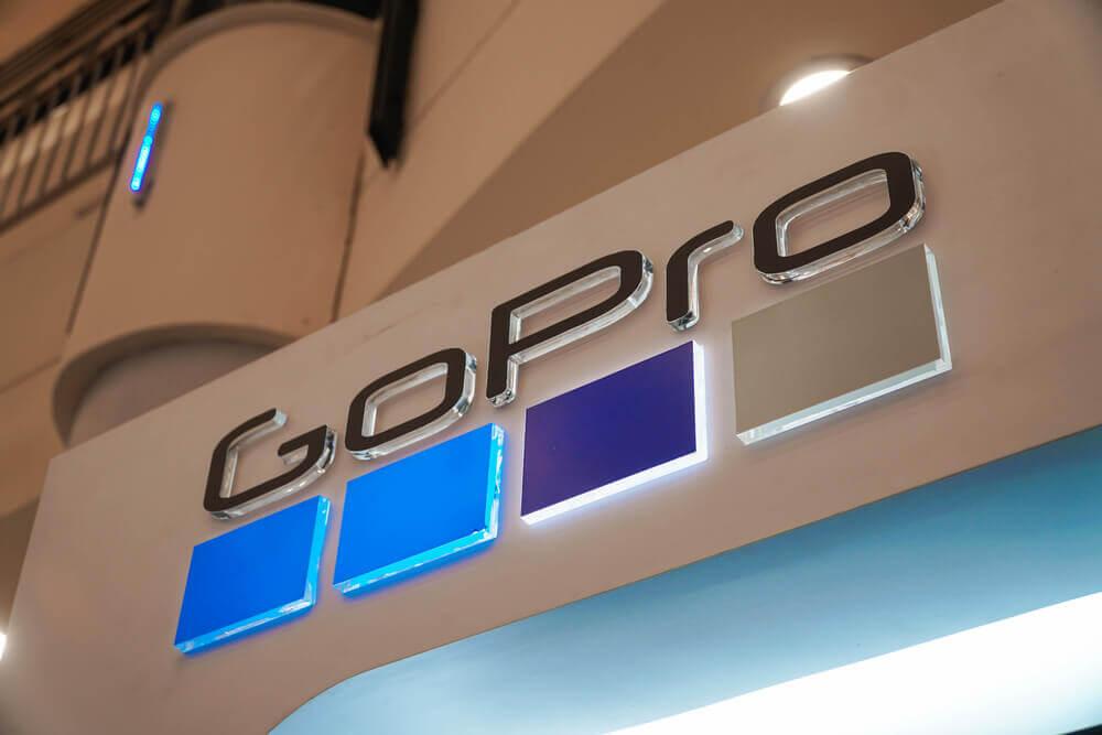 Finance Brokerage – Camera maker: GoPro Logo.
