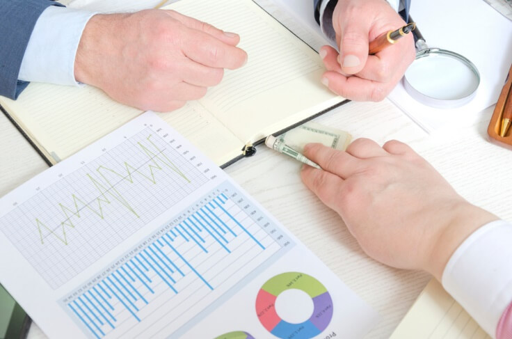 hands on paper and data – finance brokerage